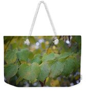 Stranded Hearts Of Autumn Weekender Tote Bag