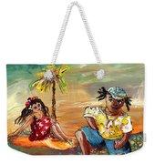 Stranded In Tahiti Weekender Tote Bag