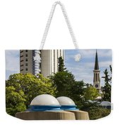 Strange Buenos Aires Architecture Weekender Tote Bag