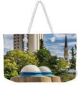 Strange Buenos Aires Architecture Tilt Shift Weekender Tote Bag