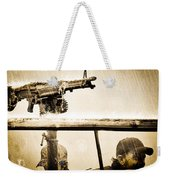 Strange Days Weekender Tote Bag by Bob Orsillo