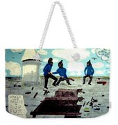 Strangeways Prison Riots Uk.1990s Weekender Tote Bag