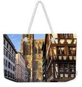 Strasbourg Cathedral Weekender Tote Bag