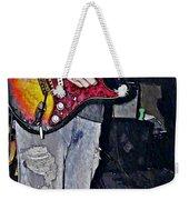 Strat Man  Weekender Tote Bag by Chris Berry
