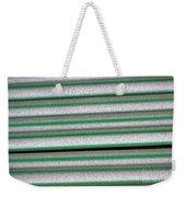 Straw Green Weekender Tote Bag