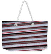 Straw Red Weekender Tote Bag