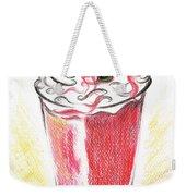 Strawberries And Cream Weekender Tote Bag