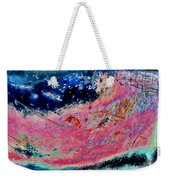 Strawberry Blueberry Universe Weekender Tote Bag