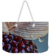 Strawberry Corn Weekender Tote Bag