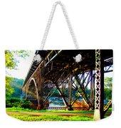 Strawberry Hill Bridge Weekender Tote Bag