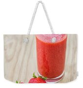 Strawberry Juice Weekender Tote Bag