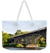 Strawberry Mansion Bridge And The Schuylkill River Weekender Tote Bag