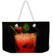 Strawberry Mojito Weekender Tote Bag