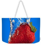 Strawberry Slam Dunk Weekender Tote Bag by Susan Candelario