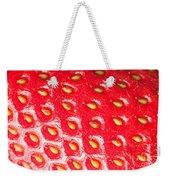 Strawberry Texture Weekender Tote Bag
