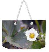 Strawberrys Flower Weekender Tote Bag