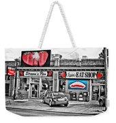 Strawn's Eat Shop Weekender Tote Bag