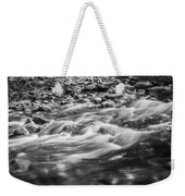 Stream Fall Colors Great Smoky Mountains Painted Bw  Weekender Tote Bag