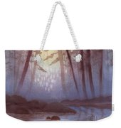 Stream In Mist Weekender Tote Bag