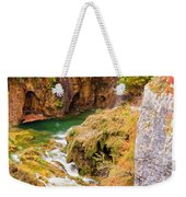 Stream In The Mountains Weekender Tote Bag