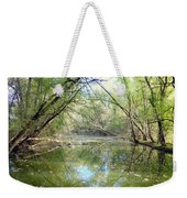 Stream Of Water Weekender Tote Bag