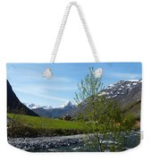Stream To The Fjord Weekender Tote Bag