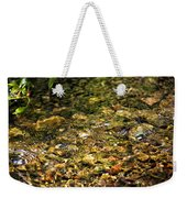 Stream Water Weekender Tote Bag