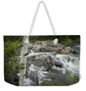 Stream With Waterfall In Vermont Weekender Tote Bag