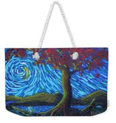 Streaming Along Weekender Tote Bag