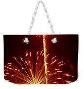Streaming Fireworks Weekender Tote Bag