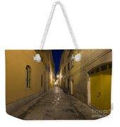 Street Alley By Night Weekender Tote Bag
