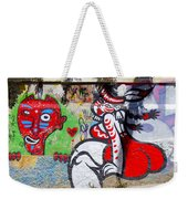 Street Art Valparaiso Chile 10 Weekender Tote Bag
