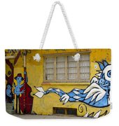 Street Art Valparaiso Chile 12 Weekender Tote Bag