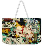 Street Art Valparaiso Chile 6 Weekender Tote Bag