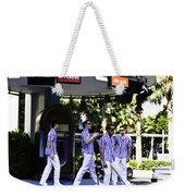 Street Entertainers In The Hollywood Section Weekender Tote Bag