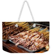 Street Food, China Weekender Tote Bag