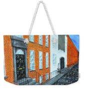 Street In Dublin Weekender Tote Bag
