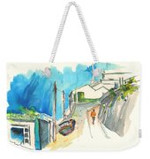 Street In Ericeira In Portugal Weekender Tote Bag
