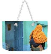 Street In Harar Ethiopia  Weekender Tote Bag