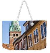 Street In Helsingor Denmark Weekender Tote Bag