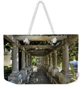 Street In Historic In Granada Weekender Tote Bag