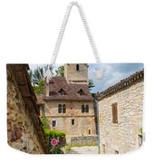 Street In Saint-cirq-lapopie Weekender Tote Bag