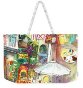 Street In Saint Martin Weekender Tote Bag