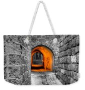 Street In Stone Weekender Tote Bag