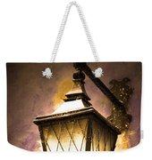 Street Lamp Shining Weekender Tote Bag