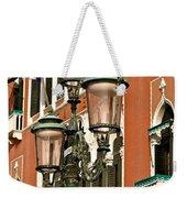 Street Lamps Of Venice Weekender Tote Bag