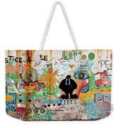 Street Mural At Liguanea Weekender Tote Bag