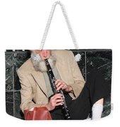 Street Musician Weekender Tote Bag