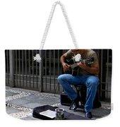 Street Musician - Sao Paulo Weekender Tote Bag