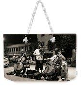 Street Musicians 2 Weekender Tote Bag